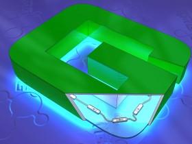 Буква объемная из ПВХ с контражуронй засветкой