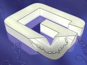 Буква объемная со световыми лицом и боками