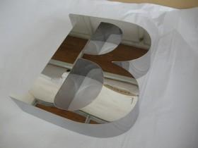 Буквы несветовые из нержавеющей стали