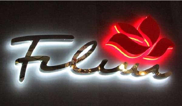 Световые буквы для кафе