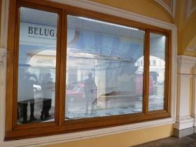 """Оформление витрины для компании """"Белуга"""""""