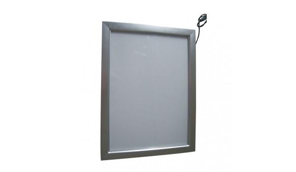 тонкая световая панель с клик профилем