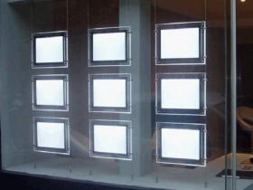 Комплекс для витрин из 9 кристалайтов