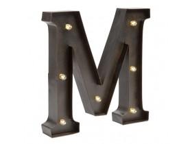 Буквы с подсветкой лампочками