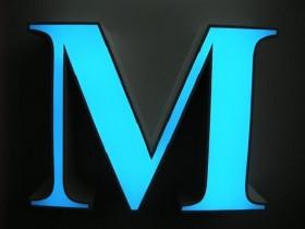 Буквы на фасад