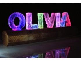 Буквы для ресторана в интерьер