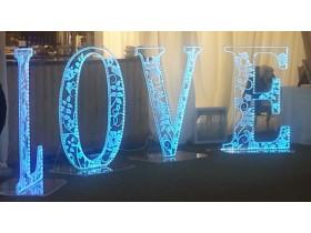 Буквы из акрила световые