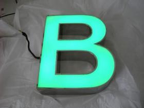Буква светодиодная из нержавеющей стали