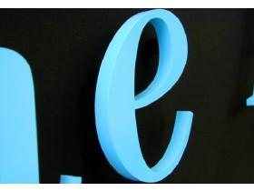 Буквы объемные из ПВХ