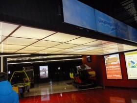 Входной портал в кинотеатр